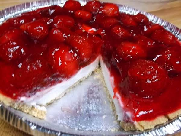 Easy Strawberry Cream Cheese Pie Recipe Just A Pinch Recipes