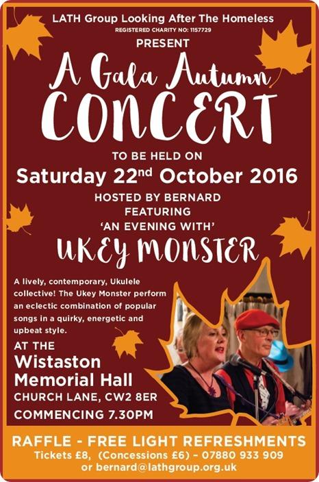 LATH - A Gala Autumn Concert - Wistaston - Sat  22-10-16
