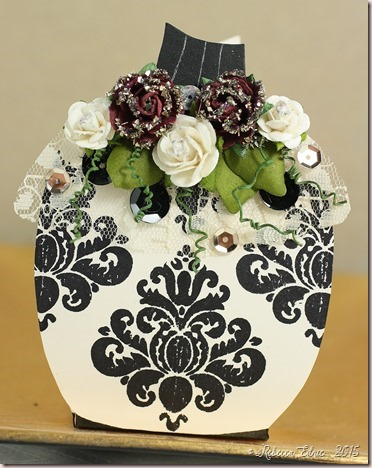 tstr damask pumpkin favour