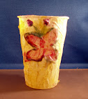 Tissue Paper Cup by Anna