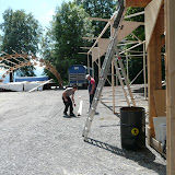 B-SIDES Festival 2009 - Aufbau (10. Juni 200)