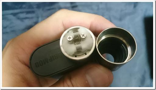 DSC 1626 thumb%25255B2%25255D - 【MOD】お手軽格安BF MOD「Kangertech Dripbox Starter Kit」レビュー!BF始めたい人にはうってつけのモデルでプチメカニカル気分