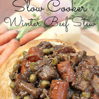 Winter Beef Stew with Campbell's® Slow Cooker Sauce.