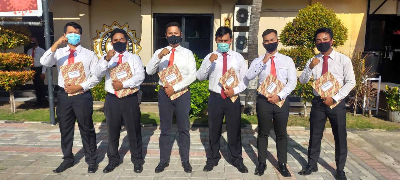 Tujuh Personel Satresnarkoba Polresta Mataram Diganjar Penghargaan