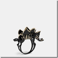 55213 COACH Stegosaurus Ring- 125GBP