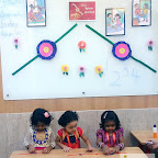 RAKSHA BANDHAN CELEBRATION BY NURSERY SECTION (2017-18) AT WITTY WORLD, BANGUR NAGAR