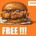 Free Popeyes Chicken Sandwich - First 10,000