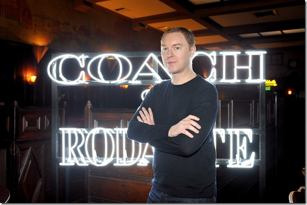 HOLLYWOOD, CA - MARCH 30:  Coach Creative Director Stuart Vevers attends the Coach & Rodarte celebration for their Spring 2017 Collaboration at Musso & Frank on March 30, 2017 in Hollywood, California  (Photo by Donato Sardella/Getty Images for Coach)
