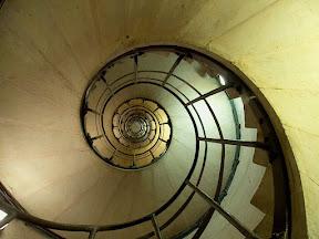 Staircase up L'Arc de Triomphe