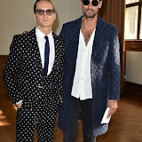 OIC - ENTSIMAGES.COM - Oliver Proudlock and Hugo Taylor at the  The LFW s/s 2016: Daks - catwalk show  in London 18th September 2015 Photo Mobis Photos/OIC 0203 174 1069