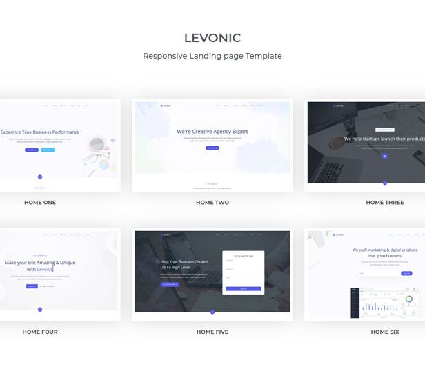 Levonic - Bootstrap 5 Landing Page Template - 1