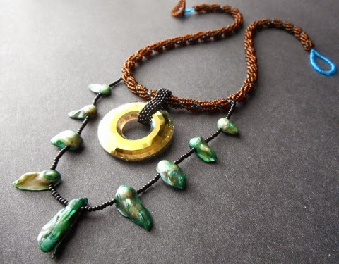 Juno Pendant from Ancient Worlds Modern Beads