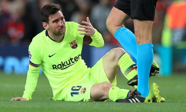 CHAMPIONS LEAGUE!! Barcelona Boss Reveals How Man United Stopped Messi In The First Leg