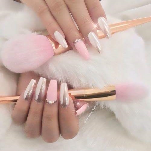 Pretty pink nail art ideas for 2017 reny styles related posts prinsesfo Image collections