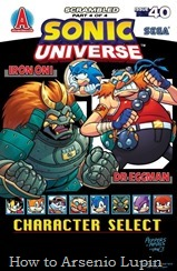Actualización: 27/10/2017: Se agrega Sonic Universe #40 por Lone Knight para The Tails Archive y La casita de Amy Rose.