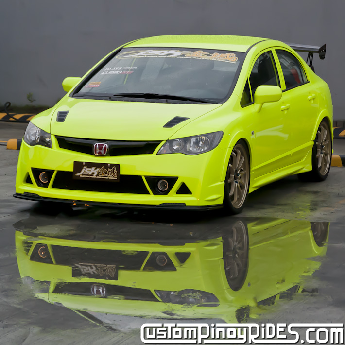 Honda Civic FD Twins by JSK Custom Paint and Auto Works Custom Pinoy Rides Car Photography pic3