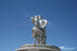 """Чингис Хааны """"Алтан ташуур"""" хөшөө /Photography by Icemilk/"""
