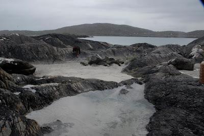 Rocks on the beach, Derrynane Beach, Ireland