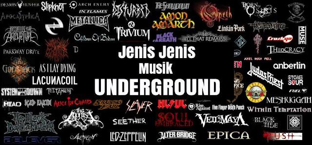 14 Jenis Aliran Musik Bawah Tanah Underground Yang Harus Kamu Ketahui!! Anak Metal Harus Baca