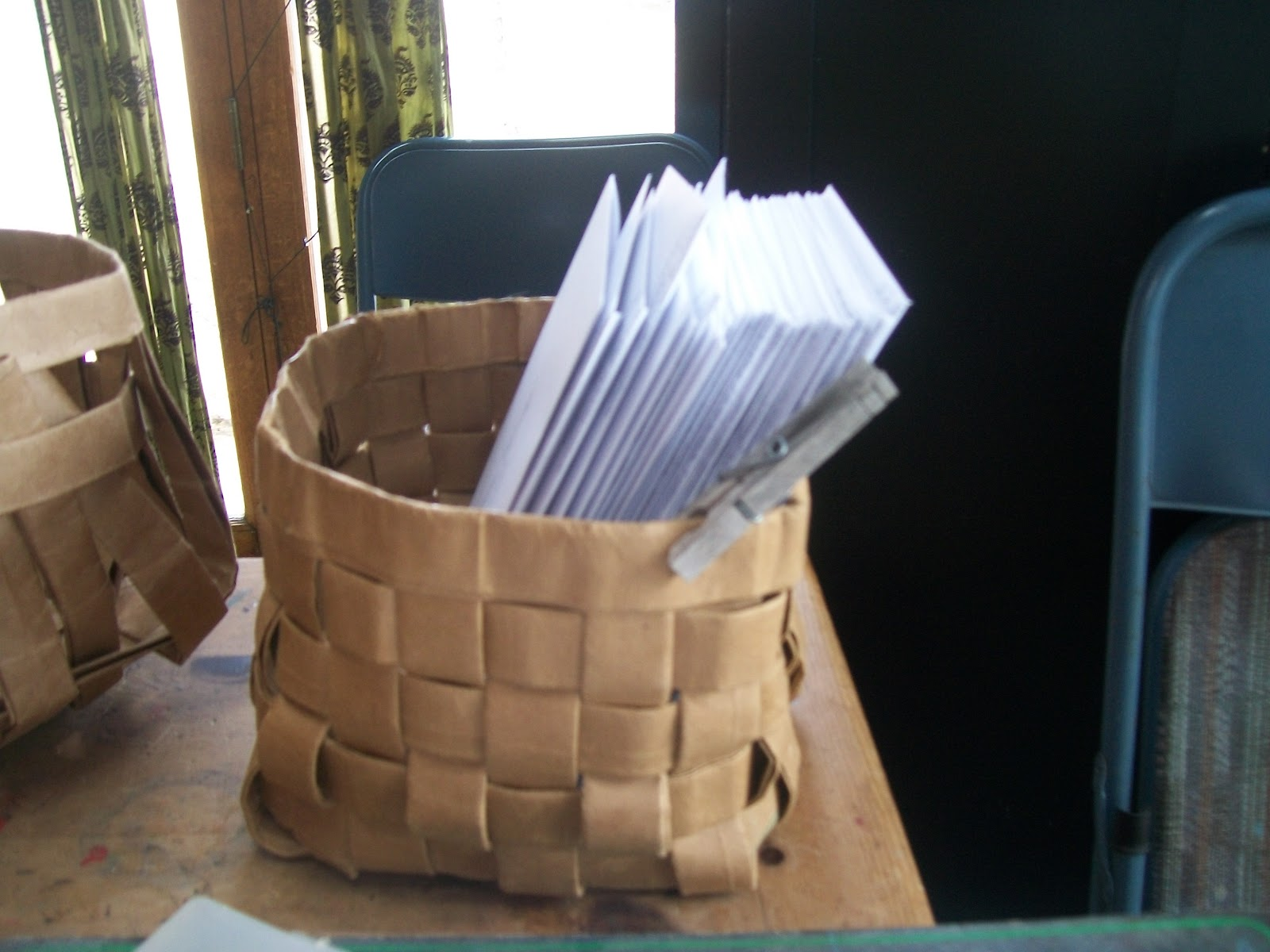 Paper bag activity - My Basket Looked Especially Good Today Since It Was Holding All The Finished Wedding Invitations