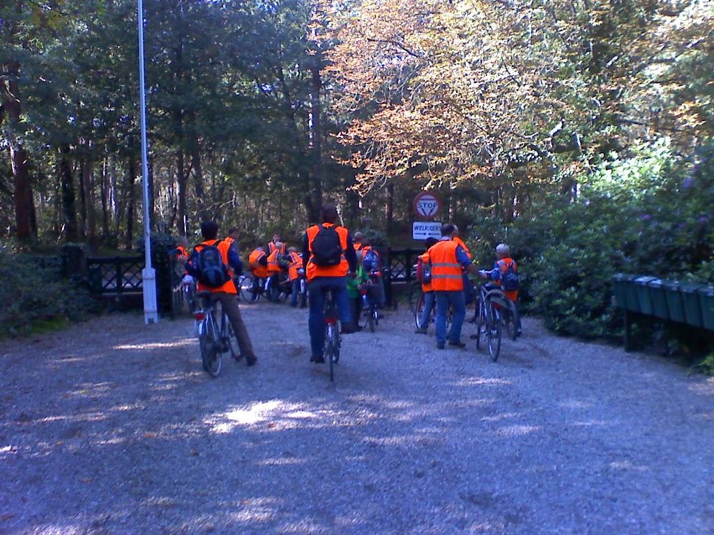 Lichtgevende fietsers
