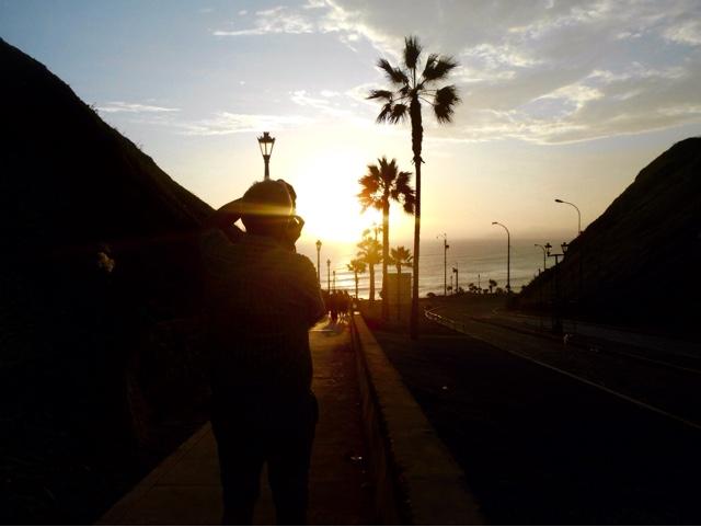 Malecon in Lima
