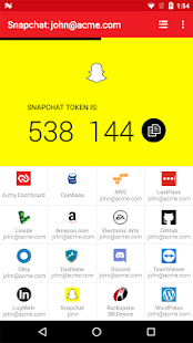 Authy 2-Factor Authentication- screenshot thumbnail