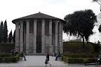 Foro Boario: Templo de Hércules y Portuno