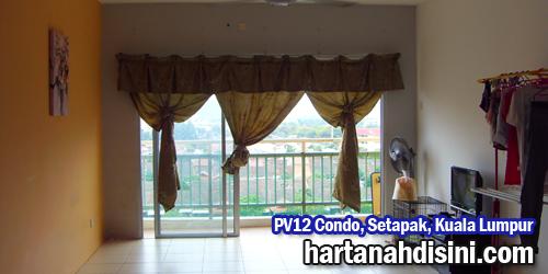 Post image for PV12 Condo, Setapak, KL