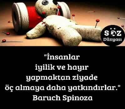 Baruch Spinoza Sözleri Söz Dünyası