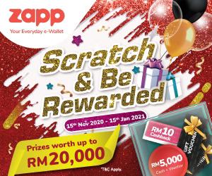 Zapp E-Wallet Scratch & Rewarded Campaign 2020