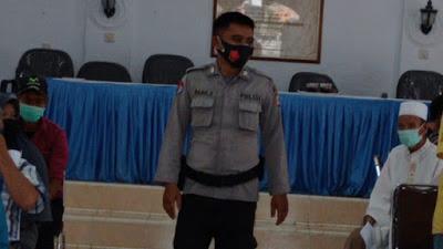 Bripka Dede Bhabinkamtibmas Polsek Panjalu Monitor Pelaksanaan BST