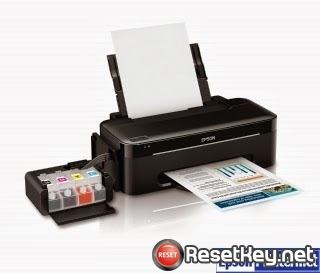 Reset Epson L100 End of Service Life Error message