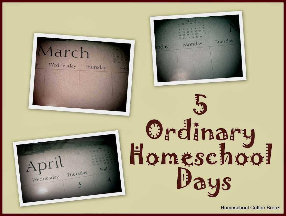 5 Ordinary Homeschool Days (Spring 2014)