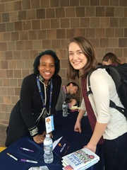 Nicola Yoon and I