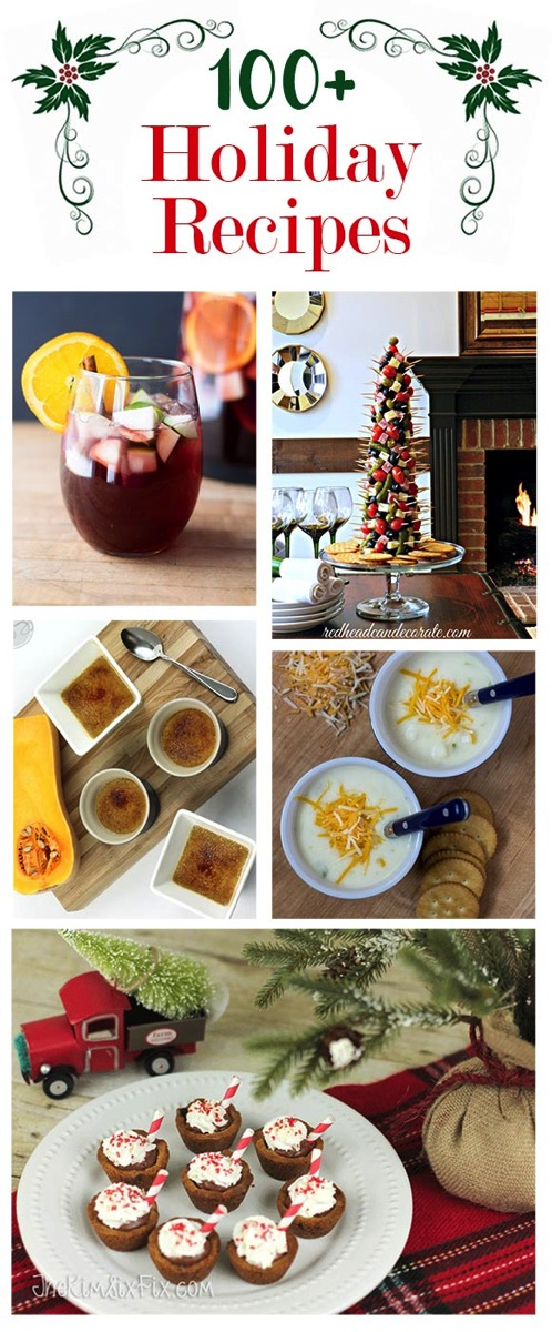 Holiday food recipes and entertaining ideas