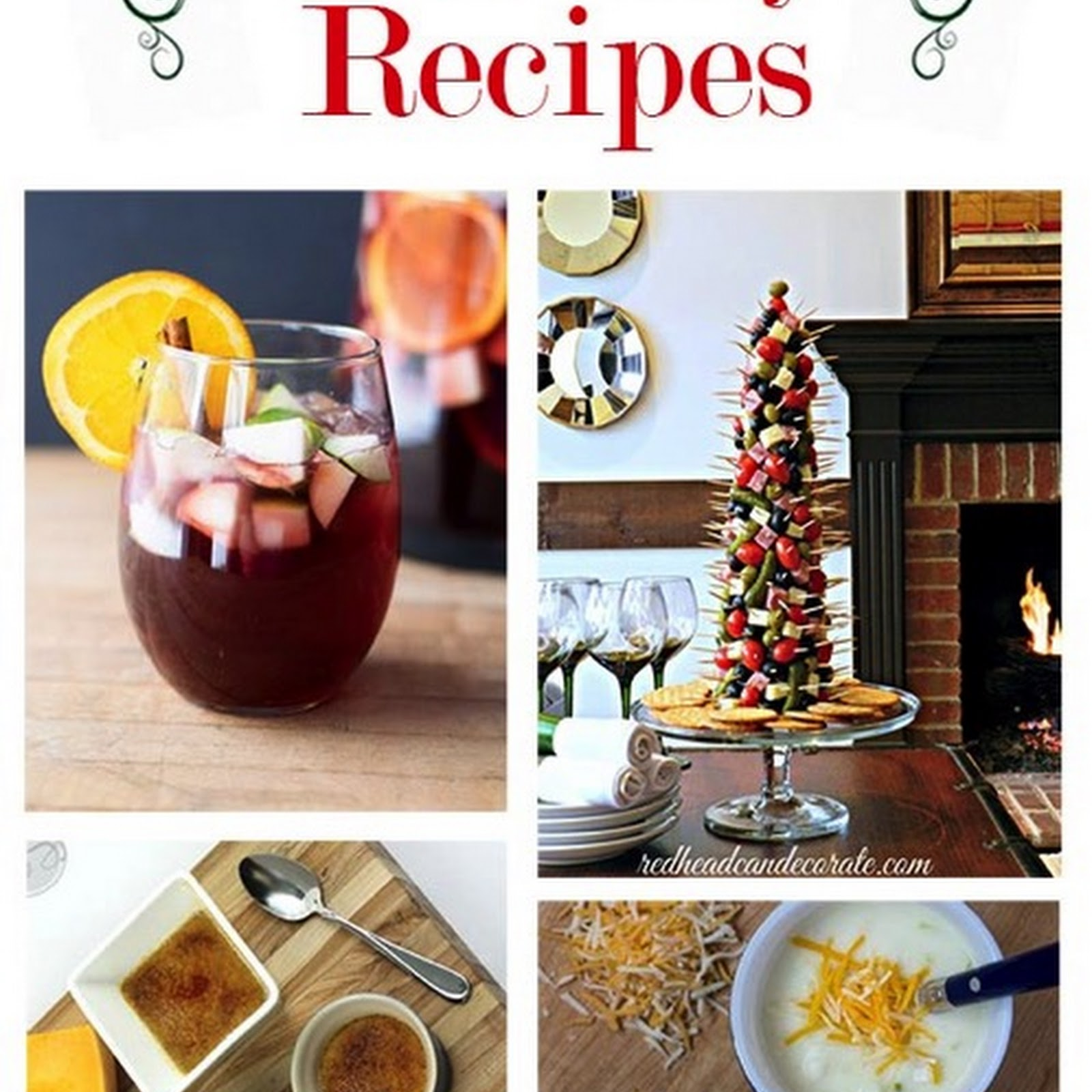 100 Holiday Recipes and Party Food Ideas