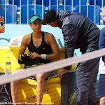 Caroline Garcia Getting Coached