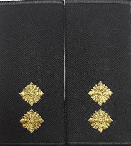 Погони-муфти ВМС Лейтенант /повсякдені/ 11*5 см