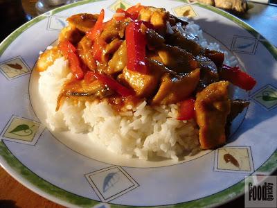 Curcan dulce-acrișor cu orez