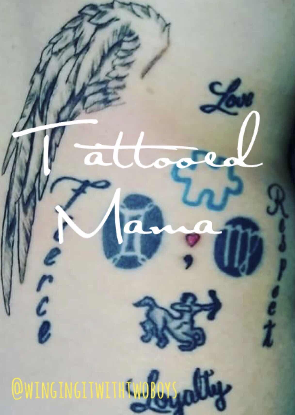 Tattooed Mama - Sarah from DearParents101