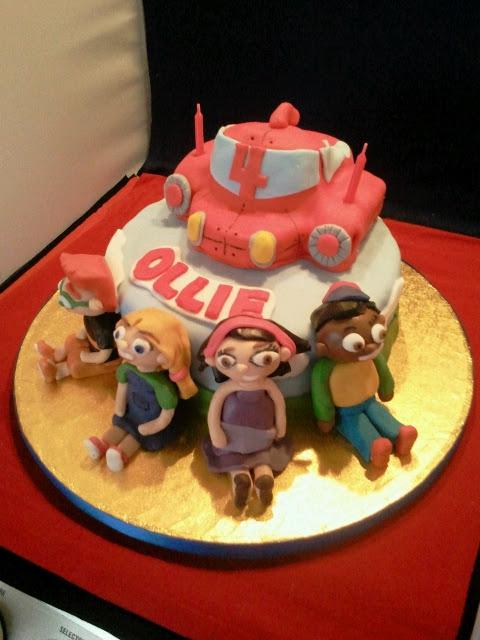 Ollies 4th Birthday Little Einsteins Cake Fricingonthecake Blog