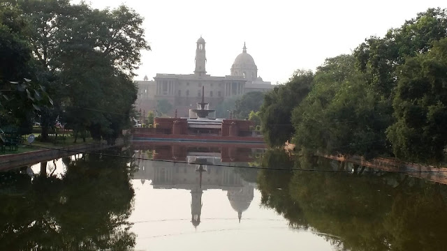 North Block in Delhi from my eyes