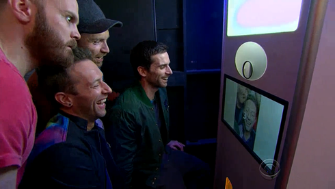 Coldplay on The Late Late Show with James Corden