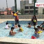 Water Play Activity By Play Group Section at Witty World Bangur Nagar (2017-2018)