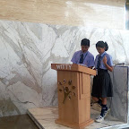 ASSEMBLY ON DOCTOR'S DAY BY  VII -B (Secondary Section 2017-18)