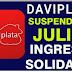 ¿No puede recibir el Ingreso Solidario a través de Daviplata porque ha sido suspendido?