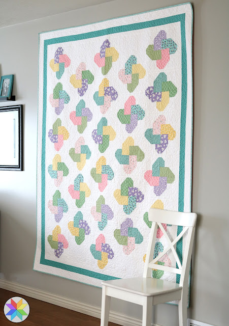 Winsome quilt pattern from the Fresh Fat Quarter Quilts book by Andy Knowlton of A Bright Corner