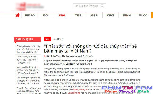 """Xôn xao tin Thủy Thần"""" mỹ nam Nam Joo Hyuk đến Việt Nam ghi hình - Ảnh 3."""