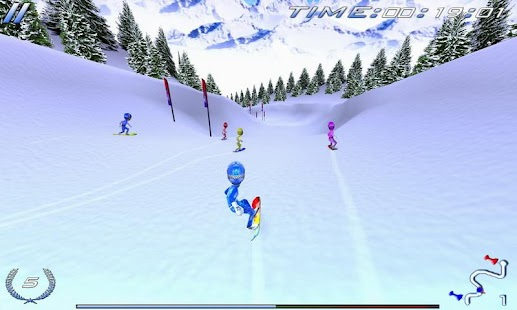 Snowboard Racing Ultimate- screenshot thumbnail